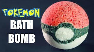 DIY Pokeball Bath Bomb - YouTube