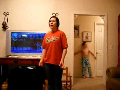 Younger brother sister corrupts video - very funny
