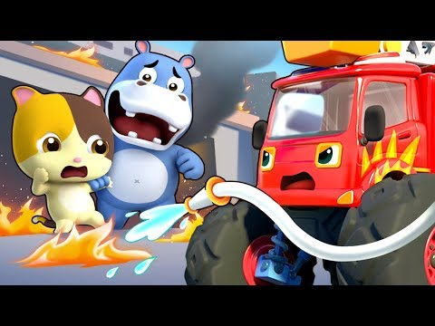 Help! Super Monster Cars | Super Panda | Pretend Play | Doctor Song, Super Train | BabyBus