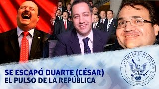 SE ESCAPÓ DUARTE (CÉSAR) - EL PULSO DE LA REPÚBLICA