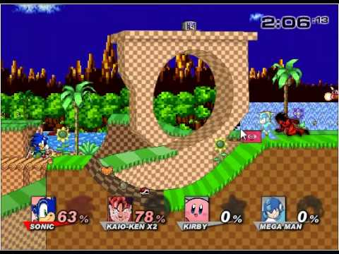 Luta Mortal - super smash flash 2