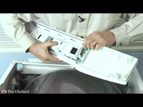Frigidaire Dryer Repair - How to Replace the Control Board (Frigidaire Part # 134557201)
