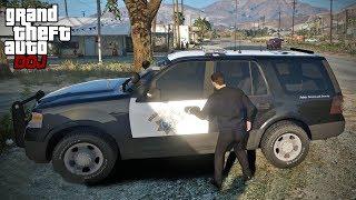 Video GTA 5 Roleplay - DOJ 294 - Stealing More Police Cars (Criminal) MP3, 3GP, MP4, WEBM, AVI, FLV Agustus 2019