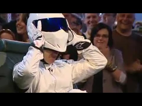 Top Gear Stig - You saw it on the telly, now see what the atmosphere was like in the studio with our behind the scenes footage shot during the live show recording exclusivel...