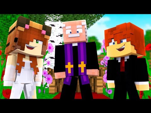 Minecraft Daycare - TINA GETS MARRIED !? (Minecraft Roleplay) (видео)