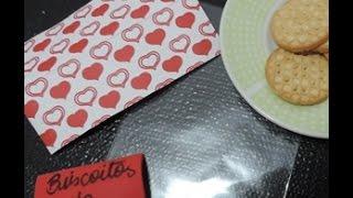 Saquinho com biscoitinhos da Vovó/Vovô. Solte a sua criatividade! :D Conheça nosso blog: http://sementinhasnatal.blogspot.com.br/