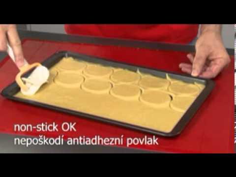 Видео Ролики, скалки, скребки  Колесико для нарезки теста DELICIA Tescoma 630020