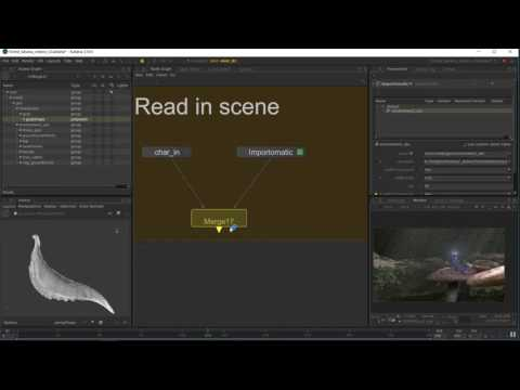 Working in Katana - Importing and Loading Assets