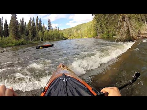 Capsizing in Kayak on Klondike River