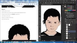 Cara mengkartunkan wajah menggunakan Photoshop, Topaz Clean