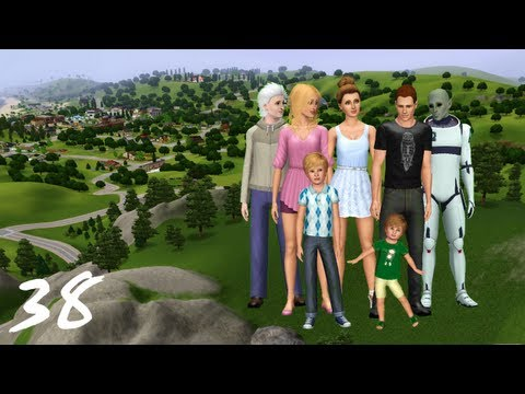Let's Play the Sims 3 Seasons- (Part 38) ALIEN ABDUCTION! w/ Commentary