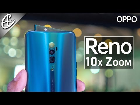 Hands On w/ the Unique OPPO Reno 10x Zoom (SD 855 | Shark Fin Selfie | 20x Digital Zoom)