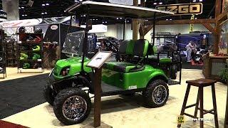 4. 2017 EZ Go Express S4 Golf Cart - Walkaround - 2016 AIMExpo Orlando