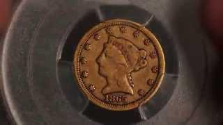 CoinGuy Ep 10: 1865-S $2.50 Gold Liberty Quarter Eagle PCGS VG10, Civil War Gold