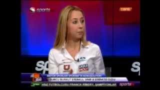 Burcu Burkut Erenkul - Sports Tv - Spor360 Canlı Yayın - 2013