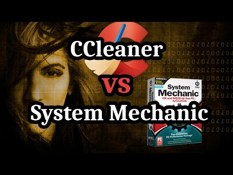 CCleaner Free vs System Mechanic | Cleanup App Review for 2017