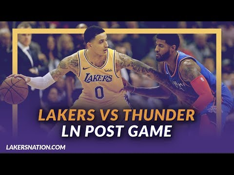 Video: Lakers Discussion: Lakers Beat the Thunder in Overtime, Kuzma and Zo Close Out Game, Zu Steps Up