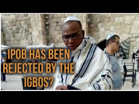 NNAMDI KANU REJECTED BY IGBO'S