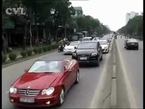 Thêm một đám cưới siêu xe tại TP Vinh - Nghệ An