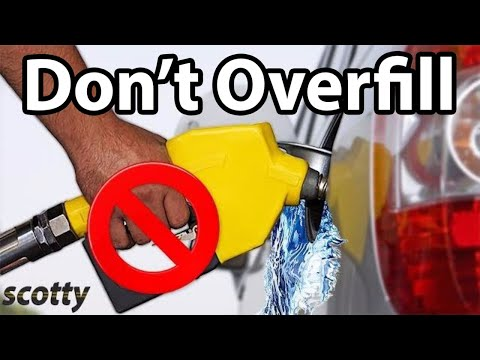 Don't Overfill Your Gas Tank - Scotty Kilmer