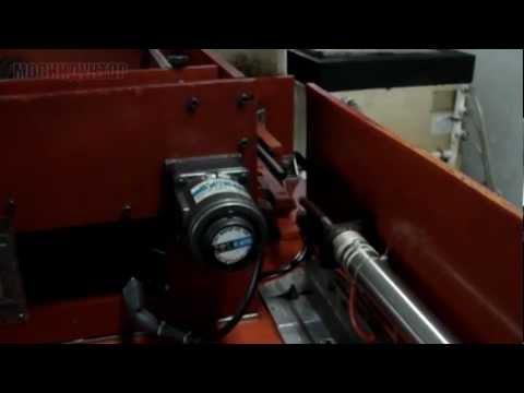 Автомат для индукционного отпуска валов d12mm х 350mm