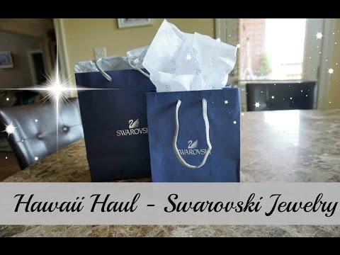 Hawaii Haul - Swarovski Jewelry