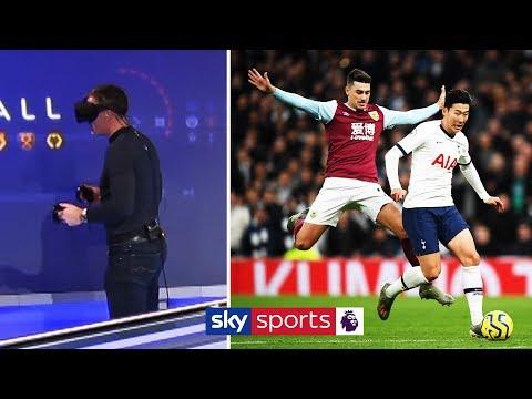 Jamie Carragher recreates Heung-Min Son's sensational goal vs Burnley using VR!
