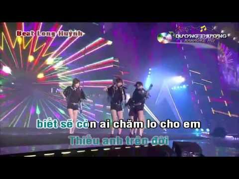 Karaoke DJ Remix - Xin lỗi anh sẽ ra đi (Full beat)