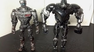 Real Steel 2-Pack Atom Vs. Zeus Figure Review
