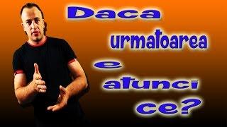 Daca urmatoarea e...atunci ce?.... Trucuri Magice Explicate - Ora De Magie - Ora de Magie - locul nr 1 in Romania pentru trucuri, iluzii, scamatorii, escrocherii si multe altele  Episodul Anterior https://www.youtube.com/watch?v=SNlbuORNwIM  Pagina OdM Facebook https://www.facebook.com/Orademagie Pagina Personala http://www.facebook.com/barbualexandru Episoade noi in fiecare zi de vineri / sambata https://www.youtube.com/OraDeMagie (Subscribe) Abonati-va la Ora de Magie pentru a vedea cele mai incredibile trucuri  http://www.youtube.com/subscription_center?add_user=OraDeMagie