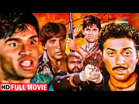 अक्षय कुमार ,सुनील शेट्टी की जबरदस्त एक्शन मूवी - BOLLYWOOD KI BLOCKBUSTER MOVIE - HINDI MOVIE