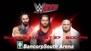 WWE Live @ BancorpSouth Arena, 8-27-2017