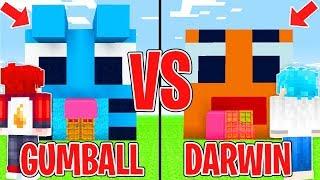CASA di GUMBALL contro DARWIN - Minecraft ITA