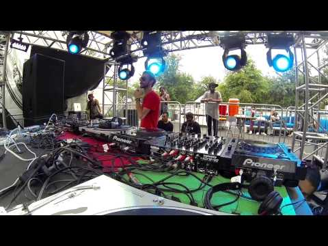 Hardline + Danyelino + Hugo Bianco at Ultra Music Festival 2014