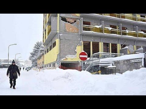 Κεντρική Ιταλία: Πρώτα καταιγίδες, μετά χιόνια, τώρα σεισμοί…