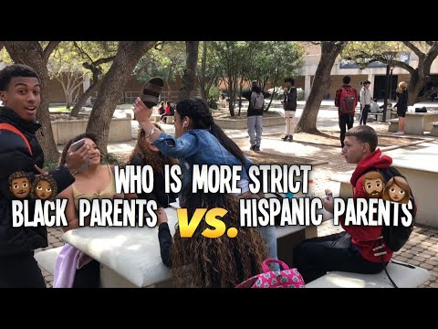 WHO'S MORE STRICT BLACK PARENTS OR HISPANIC PARENTS | PUBLIC INTERVIEW  | HIGHSCHOOL EDITION📚