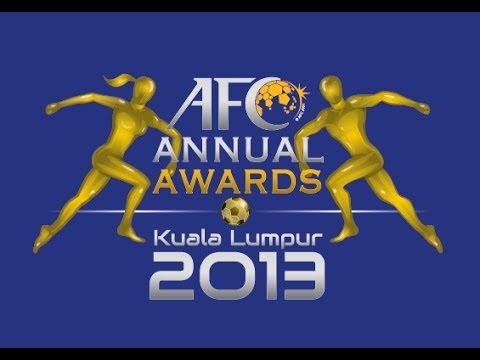 Awards - Live streaming of AFC Annual Awards night, from Kuala Lumpur on November 26th. Follow all the action from the AFC Champions League: Facebook: http://goo.gl/b8Qj7E Instagram: http://goo.gl/9Wtf2G...