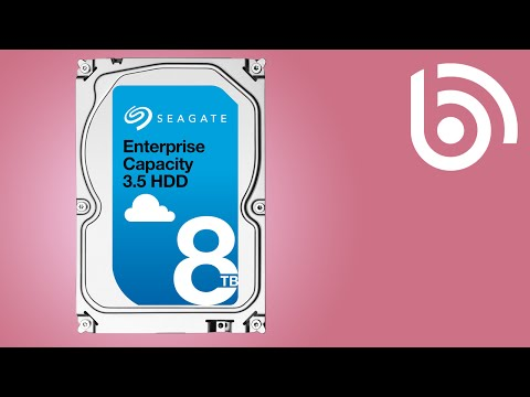 Seagate's 8TB Hard Drive Overview