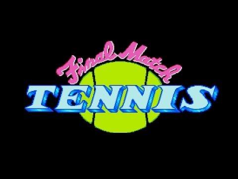 Final Match Tennis PC Engine