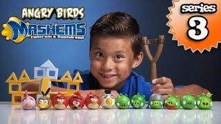 Angry Birds MASH'EMS Series 3 - Orange Bird Mash'Em&Pink Bird Mash'Em