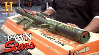 Pawn Stars: Rare Bazooka Gun is Not a Toy (Season 9)   History