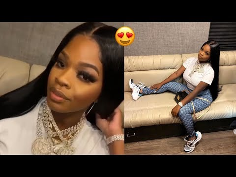 JT ( City Girls ) is home free from prison   October 8 2018