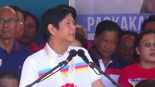 Santiago, Marcos kick off campaign in Batac, Ilocos Norte