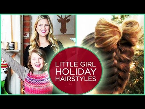 2 Little Girl Holiday Hairstyles!!