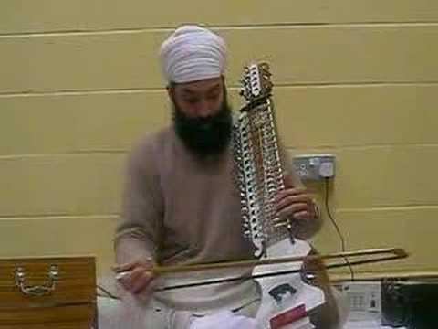 Ustaad Ranbir Singh Ji- Raag Sarang - Laal Laal Mohan- Vocal