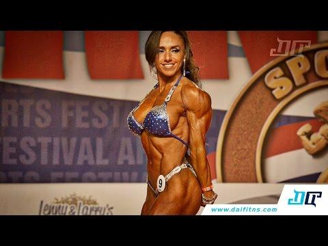 Yvonne Wigueras - Women's Physique - Arnold Amateur 2016