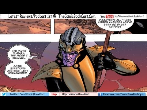 Thanos Rising #2 'A Titan will Rise'