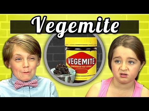 food - SUBSCRIBE to the REACT Channel: http://goo.gl/47iJqh Watch all episodes of KIDS VS FOOD: http://goo.gl/KjLw5C Watch all REACT channel videos from this week - http://goo.gl/th0yyt What is Vegemite?...