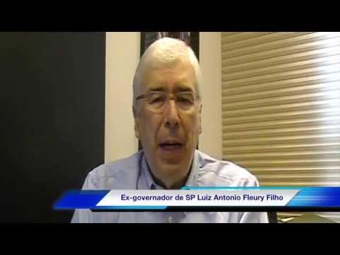 Ex-governador Luiz Antonio Fleury Filho fala sobre as eleições em São Paulo