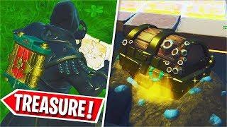 *NEW* Legendary BURIED TREASURE MAP Gameplay (Treasure & Chest)